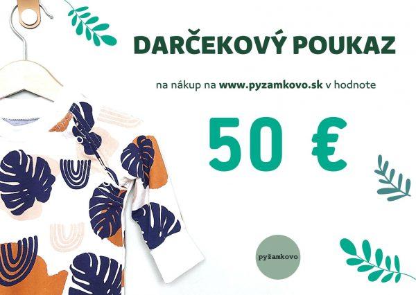 darcekova poukazka 50€