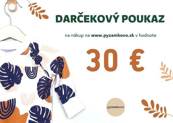 darcekova poukazka 30€